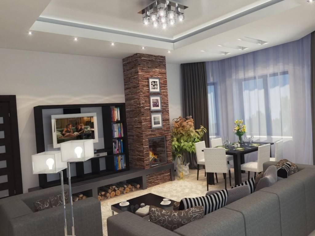 Гостиная в квартире: простые интерьерные решения и модные варианты оформления гостиной