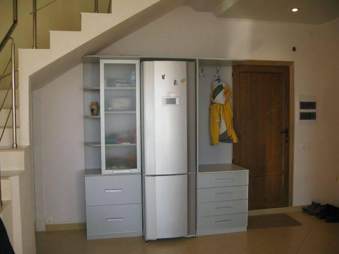 Холодильник на кухне: где можно установить в интерьере?