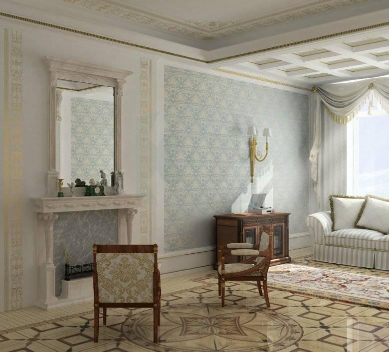 Как использовать лепнину в интерьере квартиры? все виды лепнины