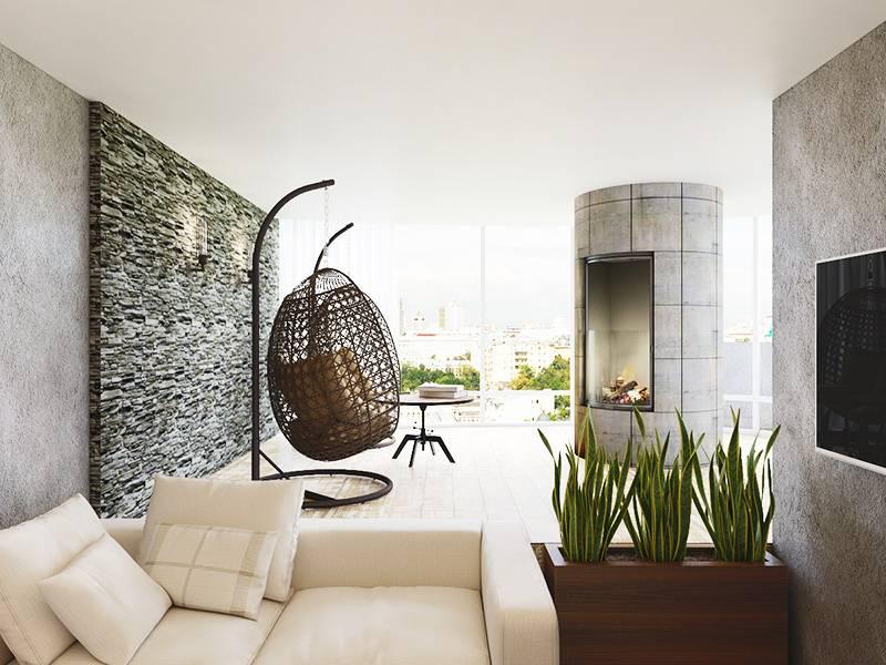 Современный интерьер в эко-стиле: особенности дизайна, 60 фото