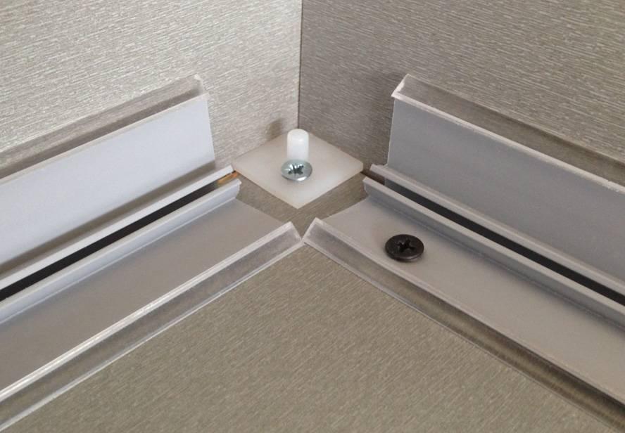 Кухонный плинтус для столешницы и его установка – сделаем мебель сами