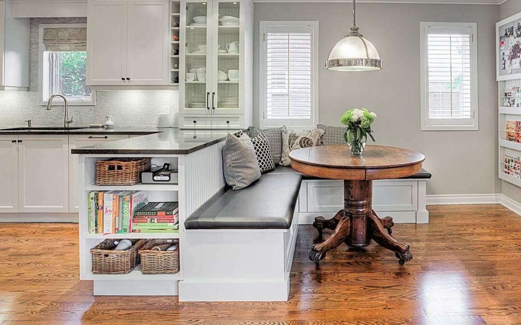 Дизайн кухни с диваном: выбор кухонного дивана и идеи дизайна (50 фото) | современные и модные кухни