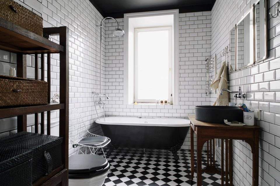 Белая ванная комната: интерьер с примерами дизайна и расстановки мебели (55 фото)   дизайн и интерьер ванной комнаты