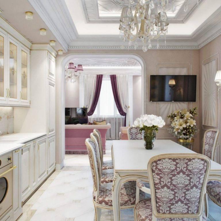 Дизайн кухни в классическом стиле: основные черты классического дизайна, 110+ фото примеров