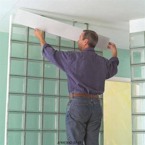 Как укладывать стеклоблоки: технология и правила качественного монтажа