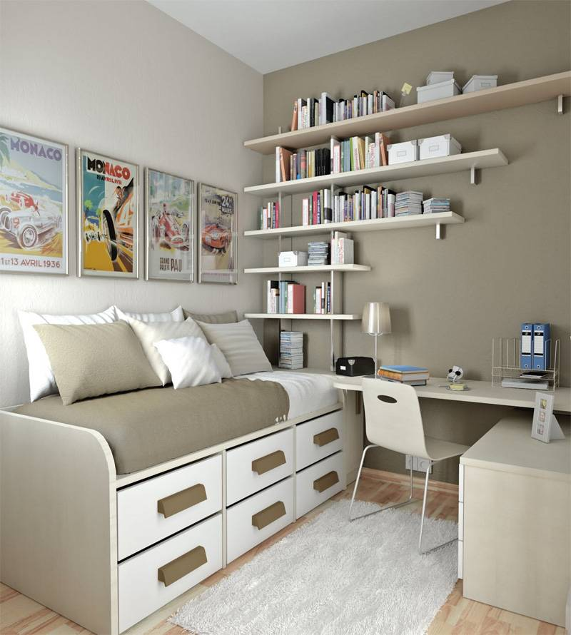 55 идей комнат для подростка, обзор