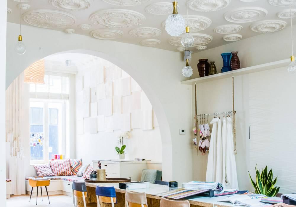 Креативные потолки из подручных средств - фото различных вариантов