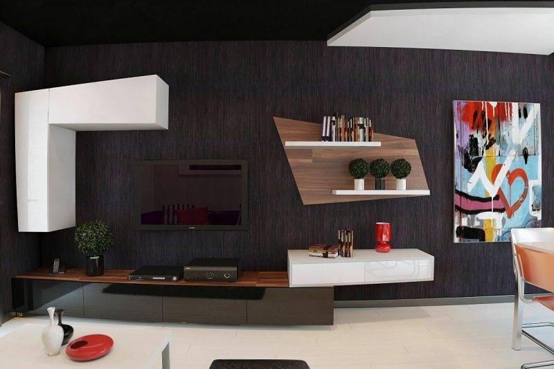 Стенка-горка в гостиную (110 фото): новинки 2021 и идей оформления гостиной