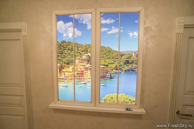 Фальш окно своими руками и его место в интерьере комнаты