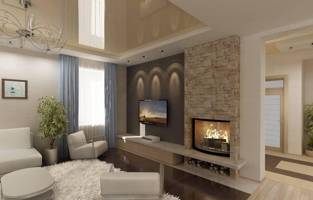 Дизайн гостиной-кабинета — тонкости зонирования и организации рабочего места в гостиной (110 фото)