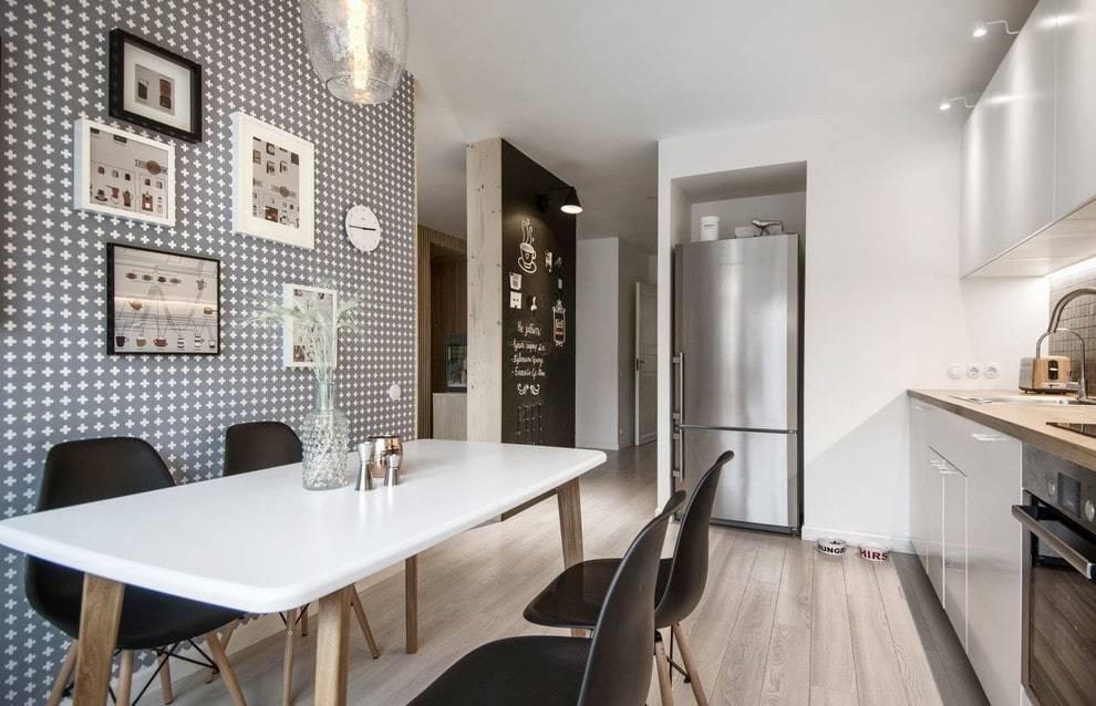 Обои для маленькой кухни: идеи дизайна и рекомендации в 2021-2022 году (60 фото) | современные и модные кухни