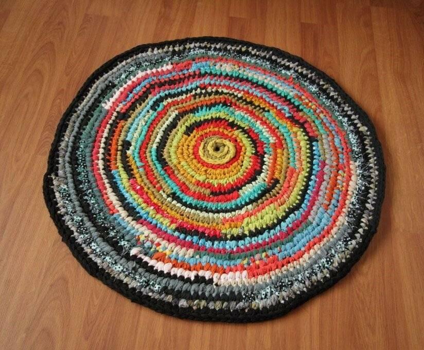 Как сделать коврик своими руками - 95 фото и видео мастер-класс как изготовить ковры из старых вещей
