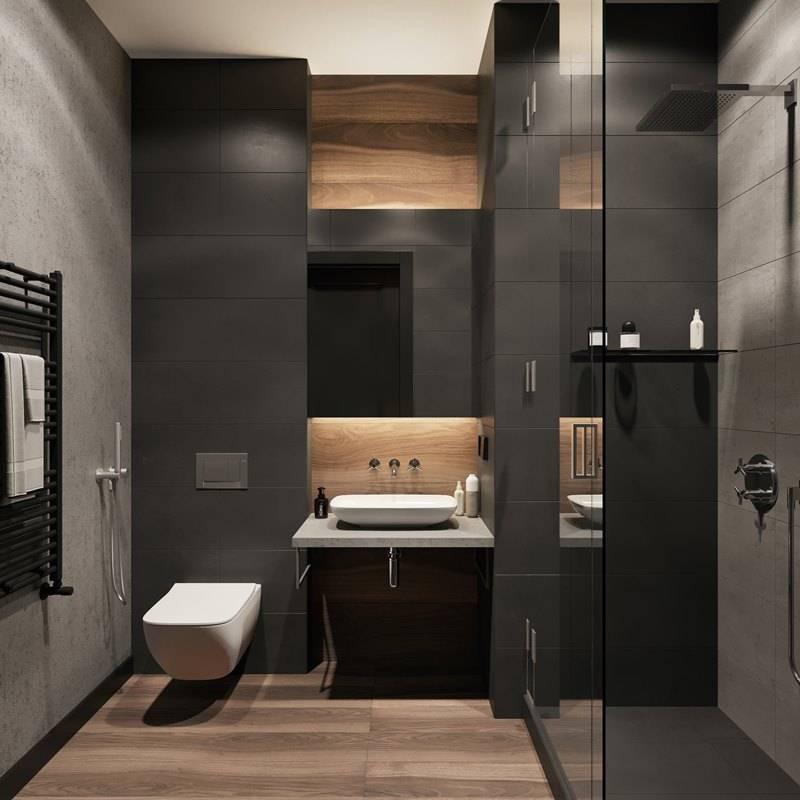Дизайн туалета, унитаза и совмещенного санузла в стиле лофт: реальные примеры, фотографии и советы по оформлению