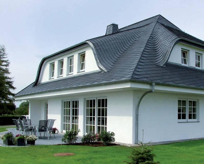 Красивые крыши частных домов, популярные и редкие типы конструкций кровли
