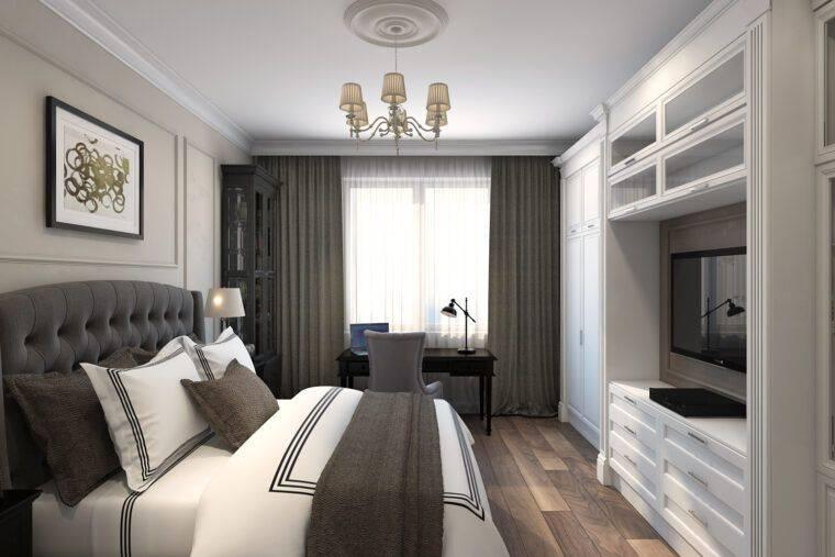 Дизайн спальни 8 кв. м. — 100 фото лучших идей как оформить дизайн в маленькой спальне