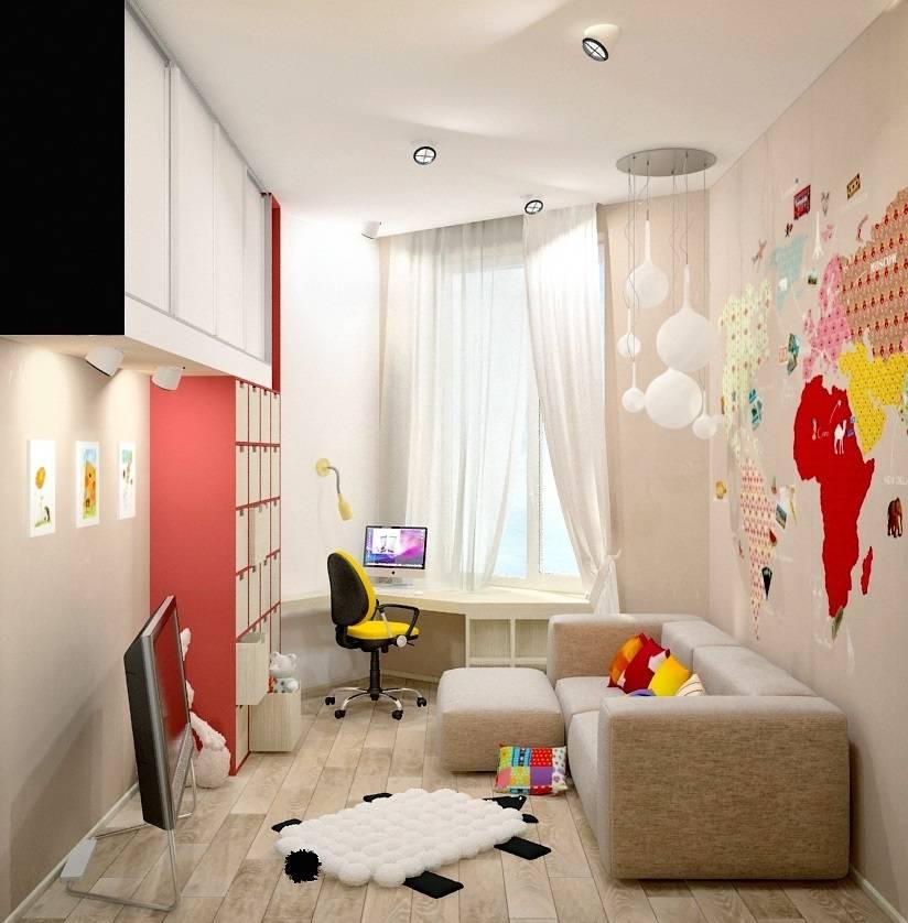 Интерьер детской комнаты: 70 фото с образцами дизайна