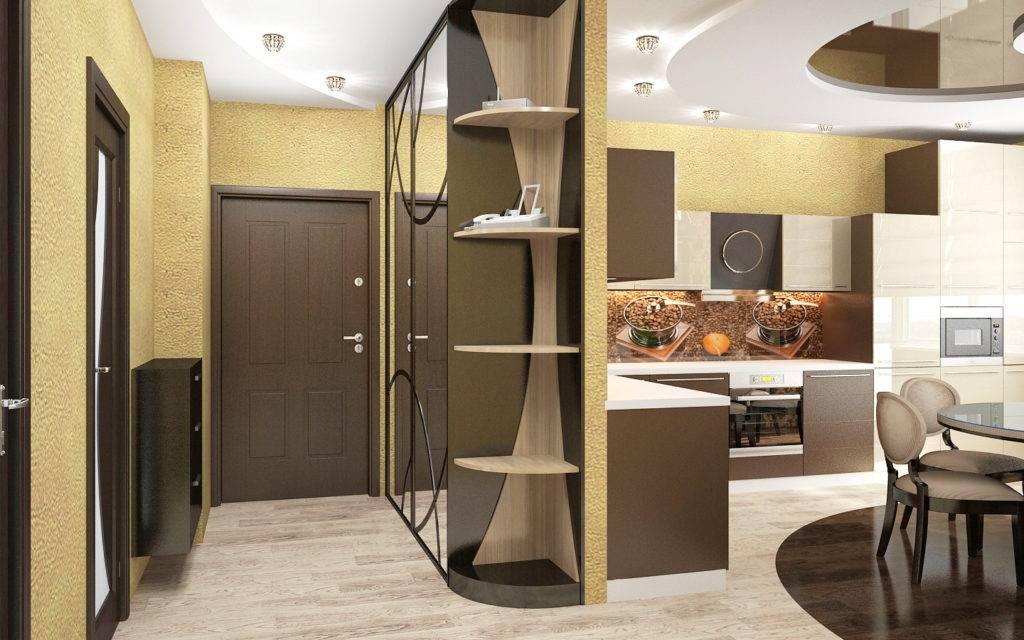 Как отделить кухню от прихожей: дизайн, в однокомнатной квартире, в частном доме, фото дизайна кухни в коридоре