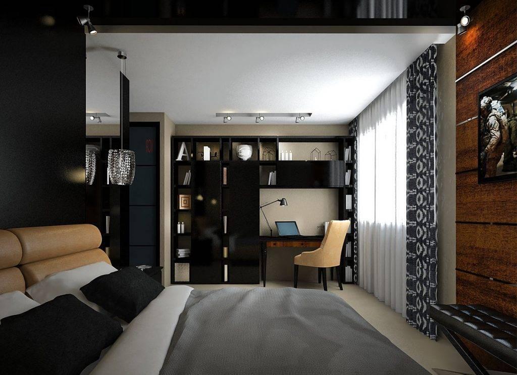 Дизайн однокомнатной квартиры от 30 до 40 кв. м | 34 фото