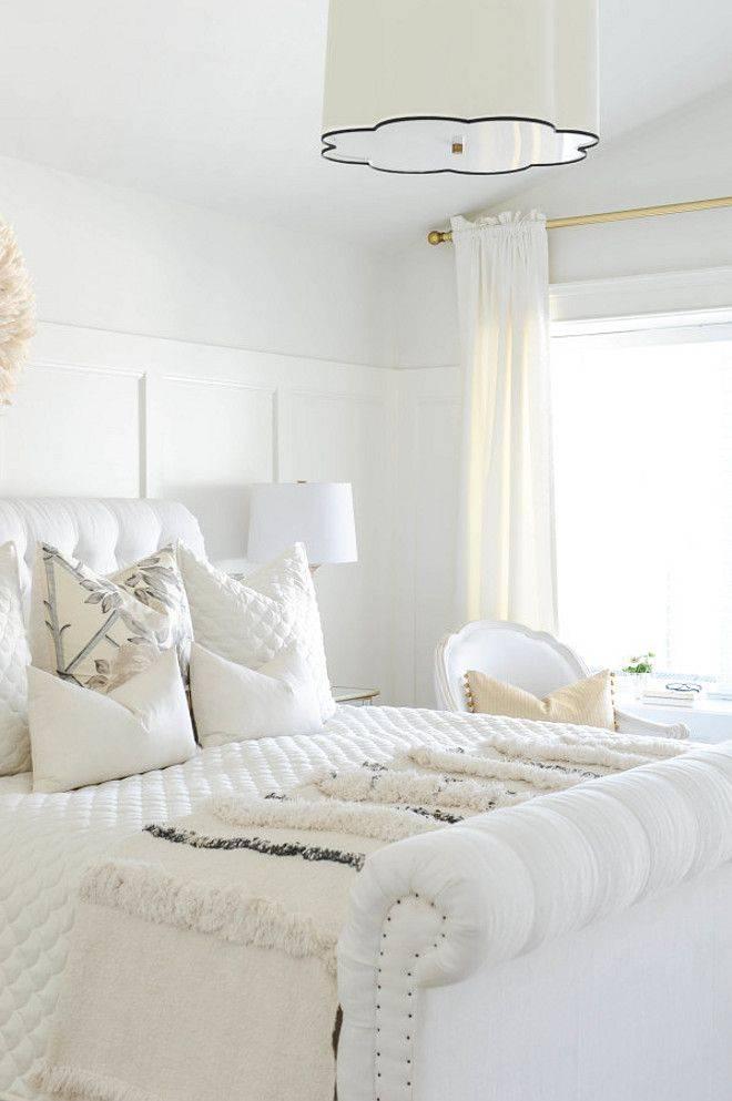 Белая спальня: топ-200 фото идей дизайна в современном стиле с белой мебелью, советы по выбору цвета