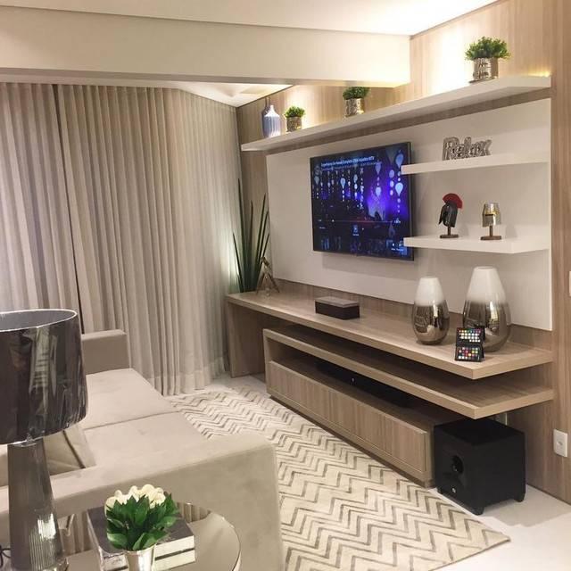 Особенности при выборе дизайна мини-стенок в интерьер гостиной комнаты