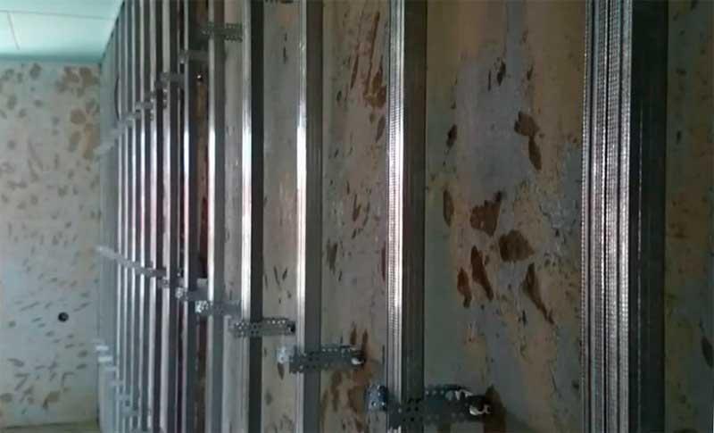 Стены из гипсокартона своими руками: пошаговая инструкция