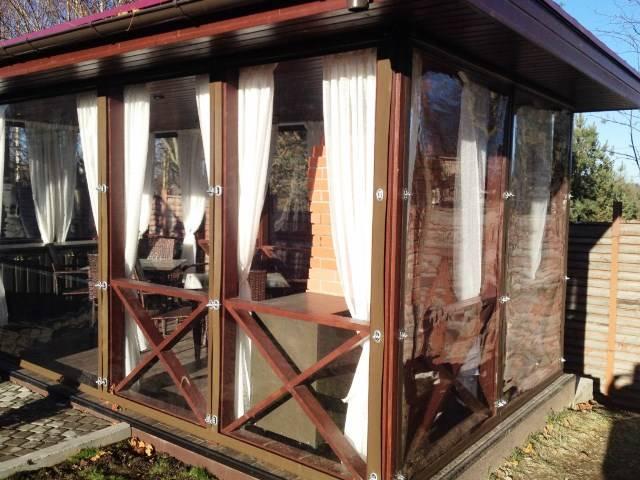 Выбираем шторы для беседок и веранд