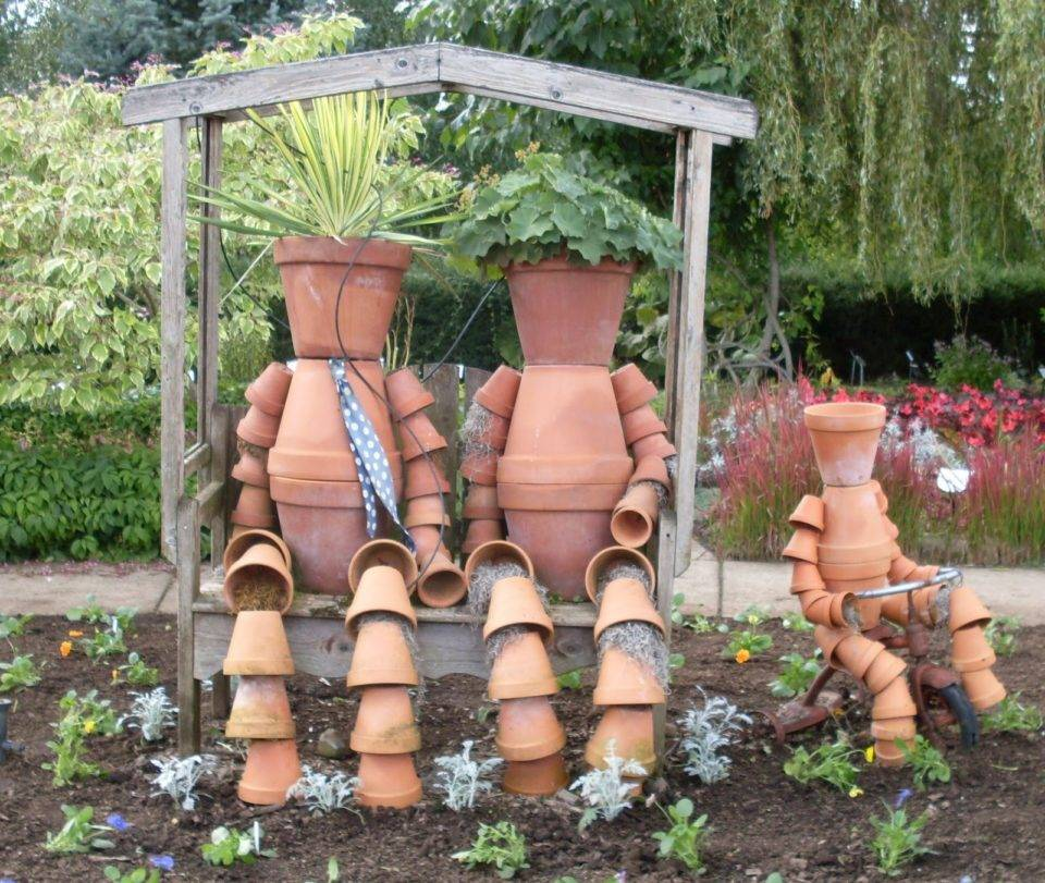 Садовый дизайн своими руками - 200 фото необычных идей благоустройства и озеленения