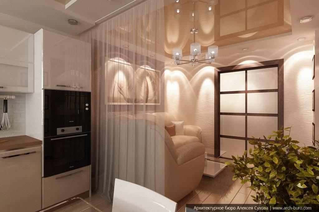 Кухня совмещенная с прихожей: 50 примеров дизайна на фото