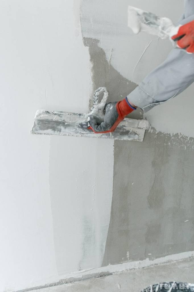 [инструкция] как правильно шпаклевать стены под обои   видео