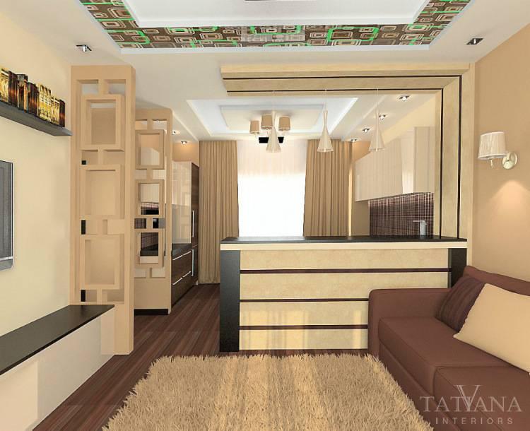 Гостиная и спальня в одной комнате: 100 лучших идей дизайна