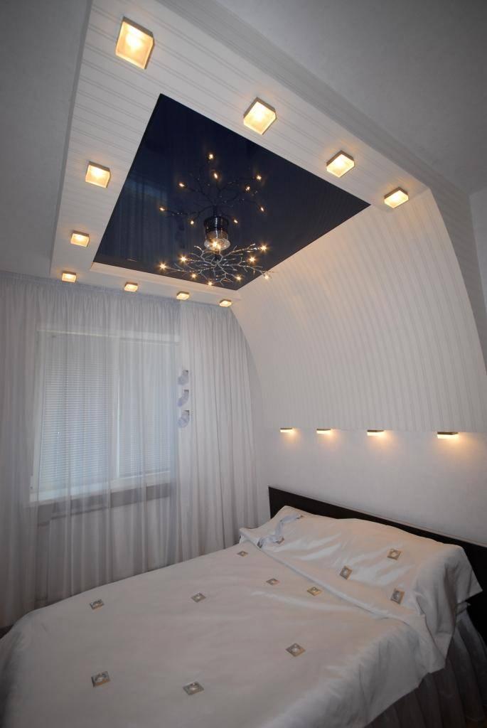 Потолок с подсветкой в спальне: примеры идеальной организации освещения в интерьере спальни (140 фото дизайна)