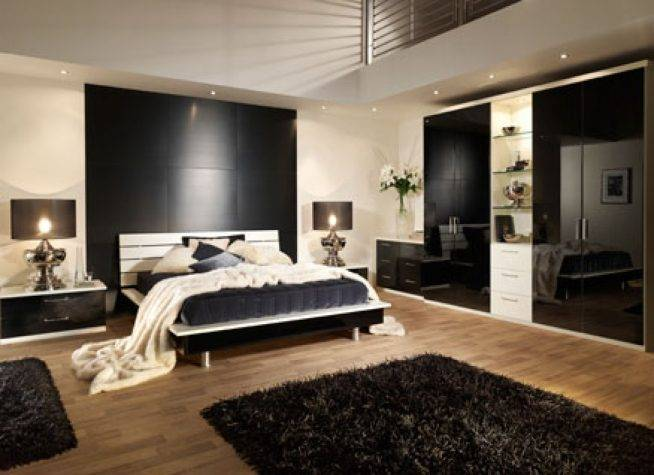 Спальня в стиле модерн: 117 фото дизайна