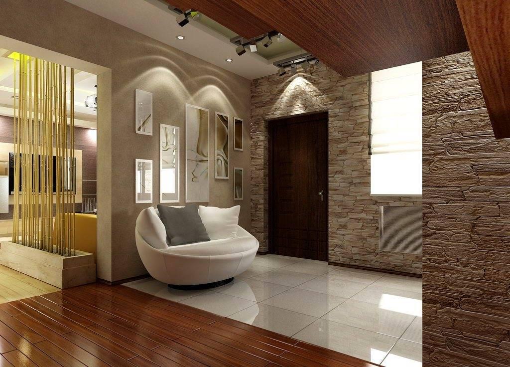 Прихожая в частном доме — интересные дизайнерские решения
