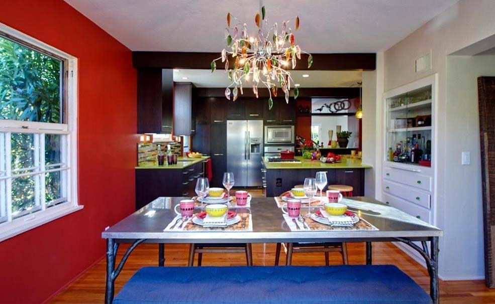 Дизайн красной кухни: фотогалерея с реальными фото примерами