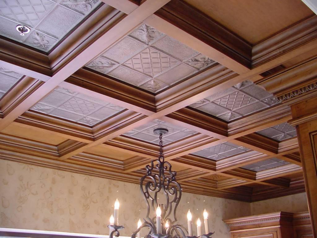 Красивые потолки 2021 с модным дизайном [+65 фото]