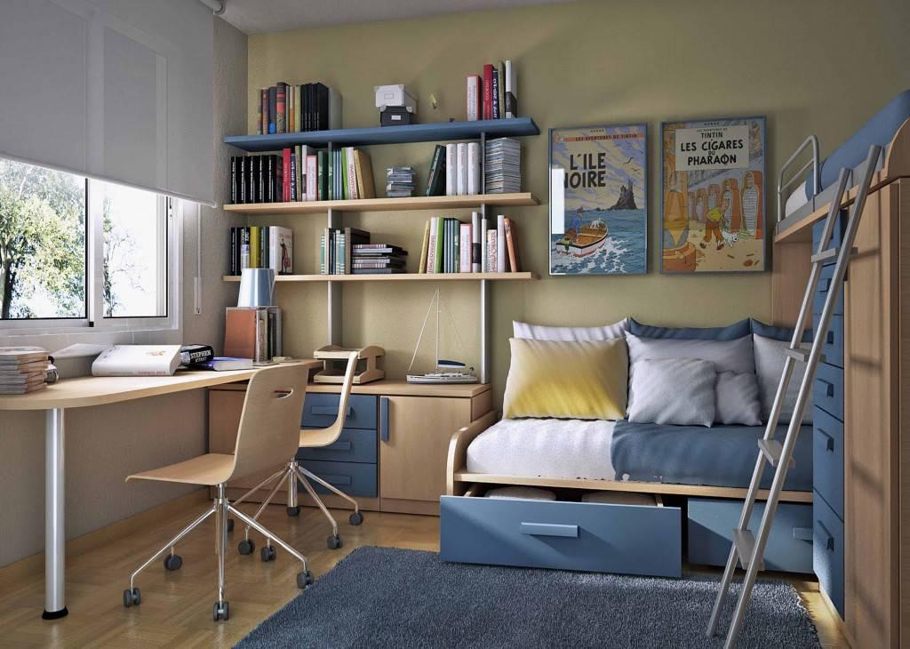 Создаем интересный дизайн маленькой детской комнаты своими руками