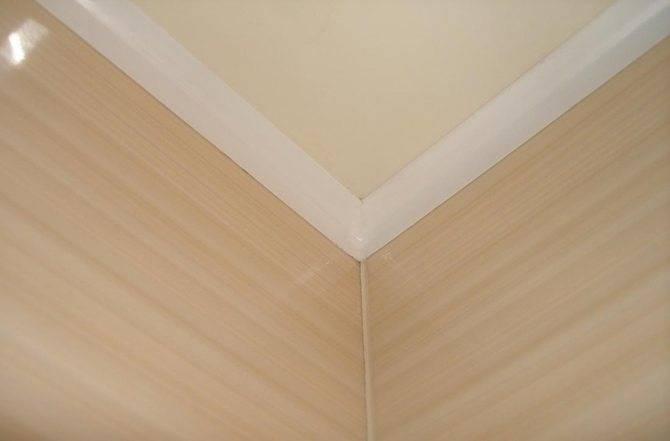 Как установить потолочный плинтус на натяжной потолок: особенности и нюансы монтажа