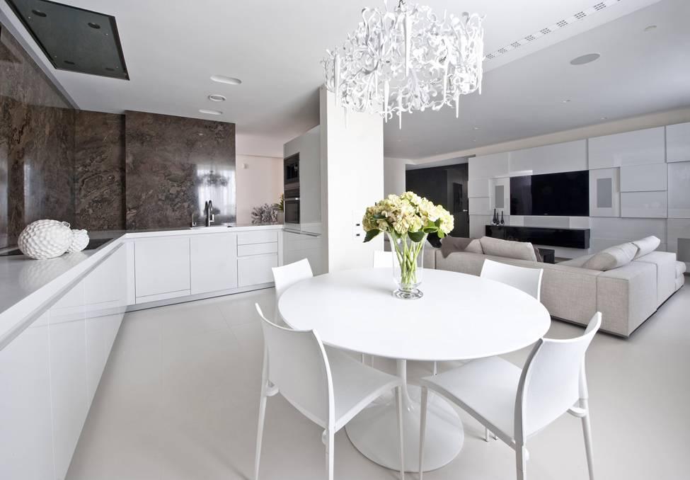 Как оформить белый интерьер: 125 фото примеров создания уютного дизайна и идеи по выбору украшения