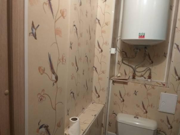 Отделка ванной комнаты пластиковыми панелями (30 фото)