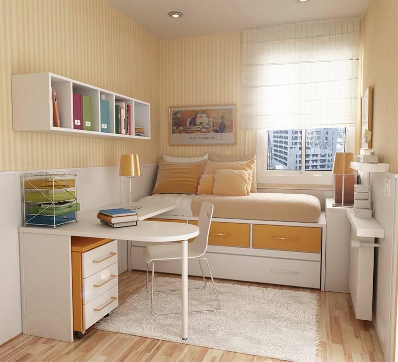 Большие секреты дизайна маленькой детской комнаты