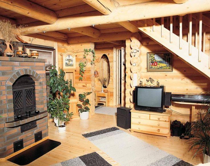 Дизайн дома с русской печкой - советы по обустройству интерьера