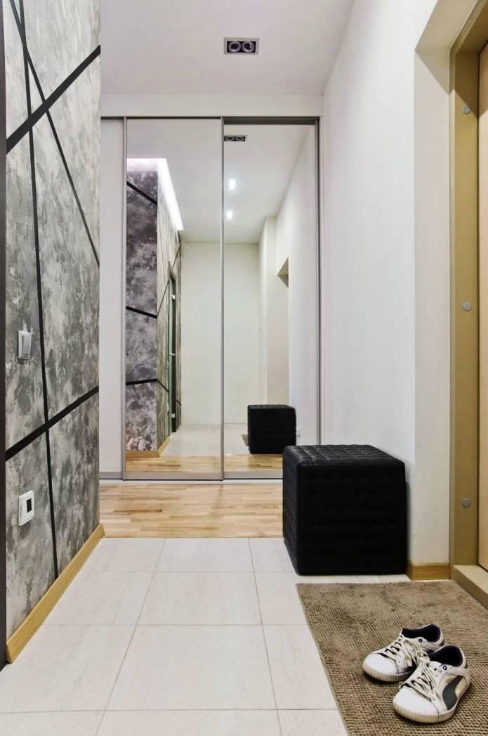 Оформление интерьера квартиры в современном стиле. дизайн коридора в квартире: реальные фото и идеи. дизайн коридора вквартире: 7 приемов+69 свежих идей