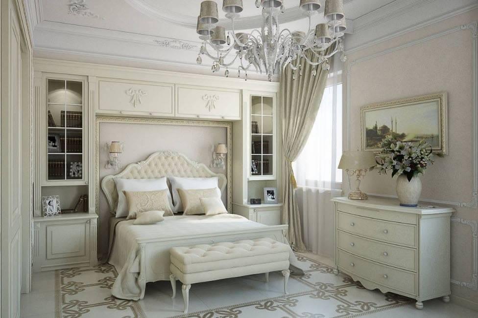 Обустраиваем спальню в классическом стиле
