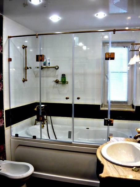 Ширма для ванны своими руками из поликарбоната, стекла и других материалов