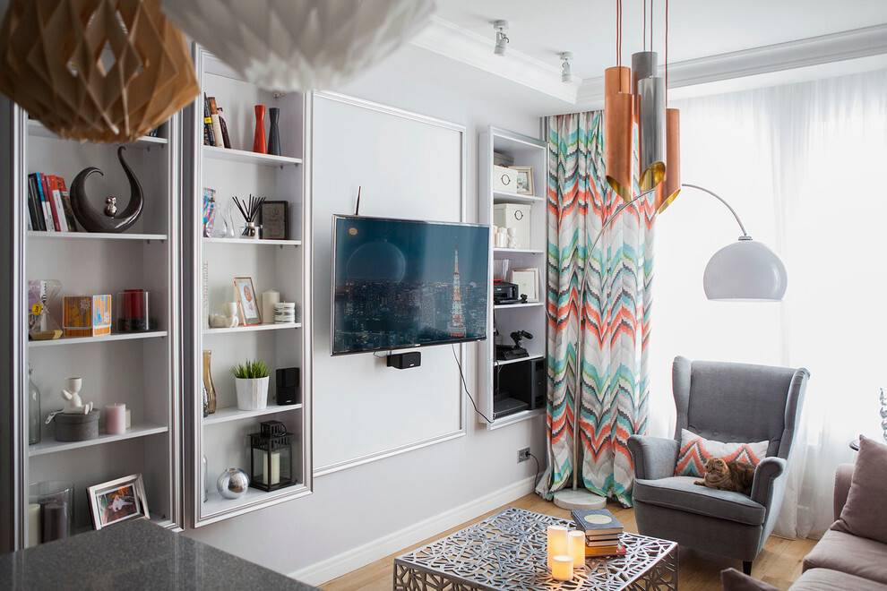 Дизайн однокомнатной квартиры: секреты дизайна и советы по расстановке мебели (80 фото)   дизайн и интерьер