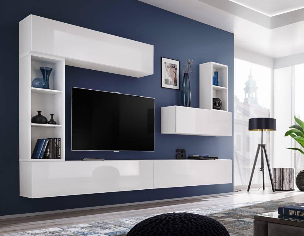 Мини стенки для гостиной - лучшие современные новинки и актуальные коллекции сезона (155 фото)