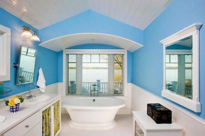 Как оформить ванную комнату в морском стиле