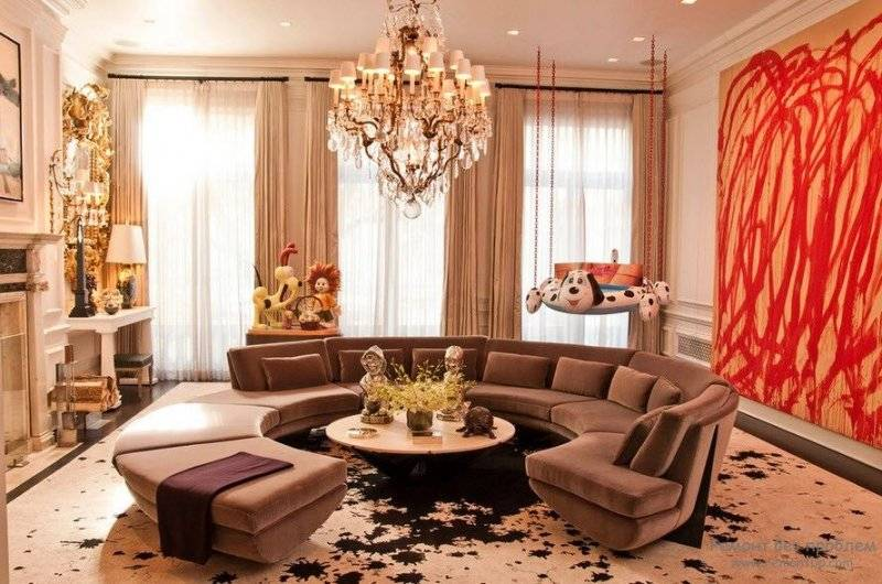 Красивые гостиные: 120 фото лучших идей дизайна интерьера