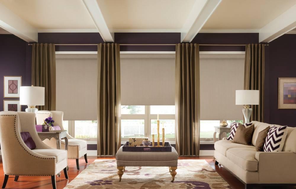 Сочетание цвета штор в интерьере: как подобрать сочетание цвета стен и штор, советы дизайнера