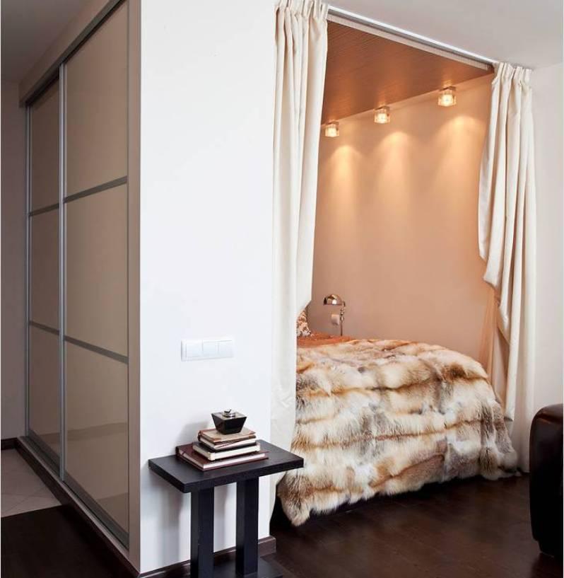 Планировка дизайна маленьких однокомнатных квартир 34 кв м